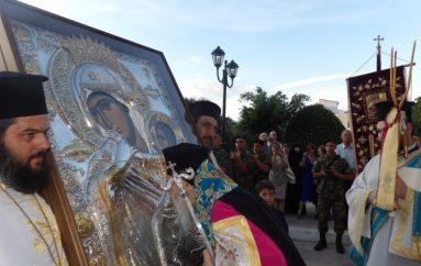 Η Κόρινθος υποδέχθηκε Λείψανα Αγίων και την Εικόνα της Παναγίας Παραμυθίας