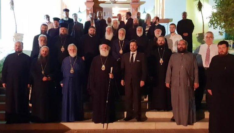 Διορθόδοξος Θεολογικός Διάλογος στο Πατριαρχείο Αλεξανδρείας (ΦΩΤΟ)