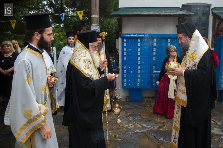 Υποδοχή Ιερού Λειψάνου του Τιμίου Προδρόμου στους Αφέτες Πηλίου (ΦΩΤΟ)