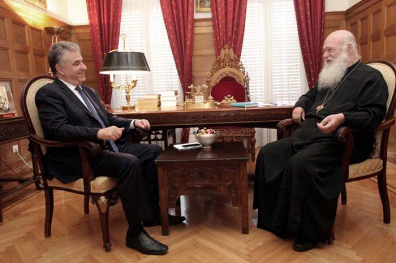 Οι Συναντήσεις του Αρχιεπισκόπου με Βουλευτές