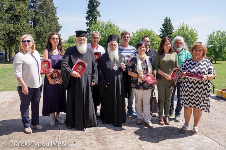 Αρχιερατική Θ. Λειτουργία με Σχολεία Ειδικής Αγωγής στη Ραψωμανίκη (ΦΩΤΟ)