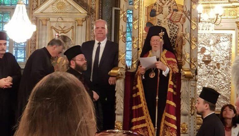 Εσπερινός Ονομαστηρίων του Οικ. Πατριάρχη Βαρθολομαίου (ΦΩΤΟ)