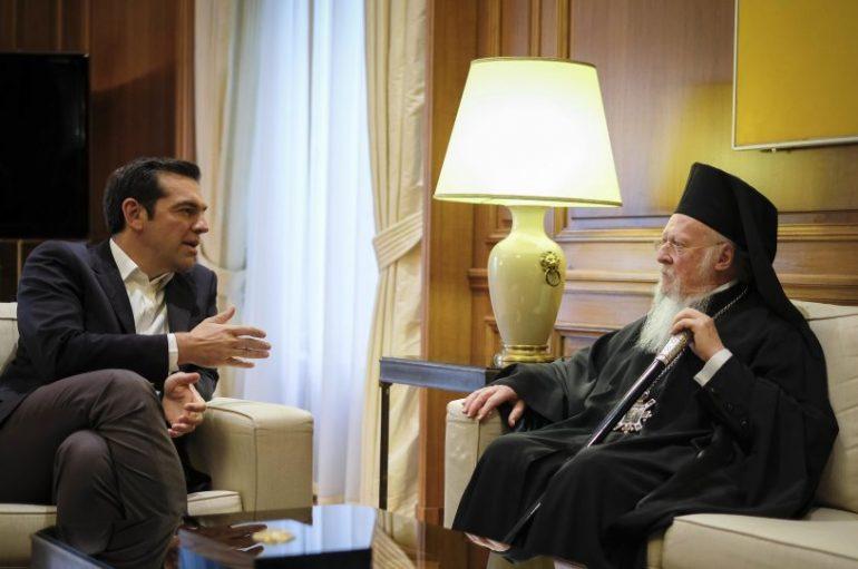 Σε Προεδρεία της Δημοκρατίας και Μαξίμου ο Οικ. Πατριάρχης