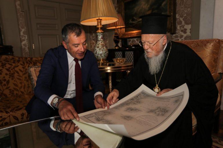 Στ. Θεοδωράκης: «Ο Πατριάρχης είναι μια πολύ σπουδαία προσωπικότητα»