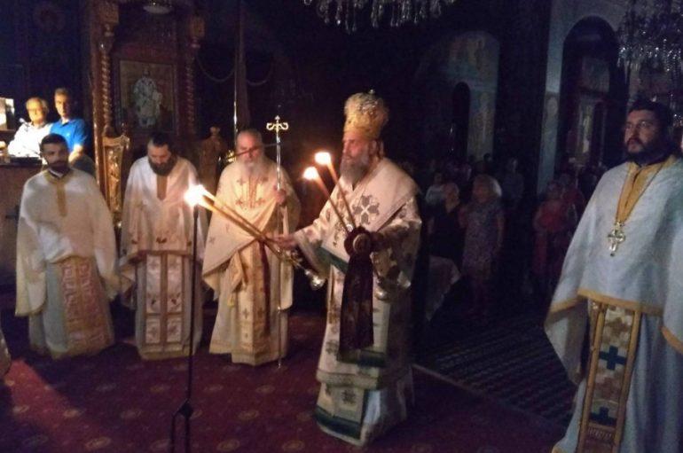 Ιερά Αγρυπνία του Αγίου Ιούδα του Θαδδαίου στην Καρδίτσα (ΦΩΤΟ)