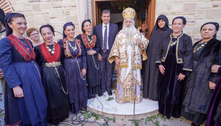 Πανηγύρισε η Ιερά Μονή Αγίων Πάντων Βεργίνης (ΦΩΤΟ)