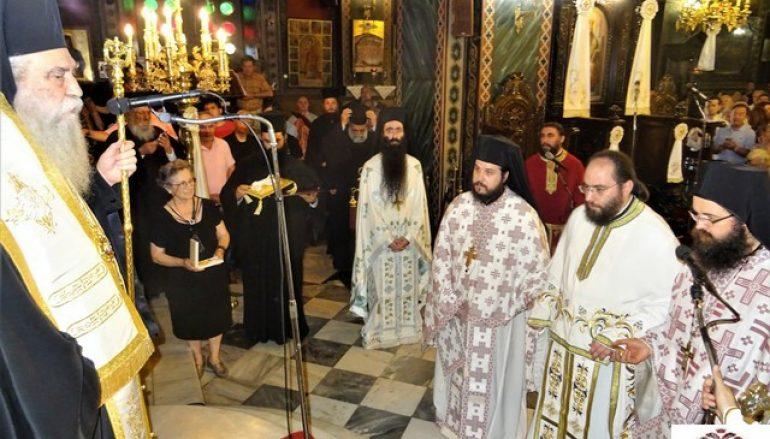 Εορτή του Αγ. Λουκά και απονομή οφφικίου Αρχιμανδρίτη στην Ι. Μ. Σπάρτης