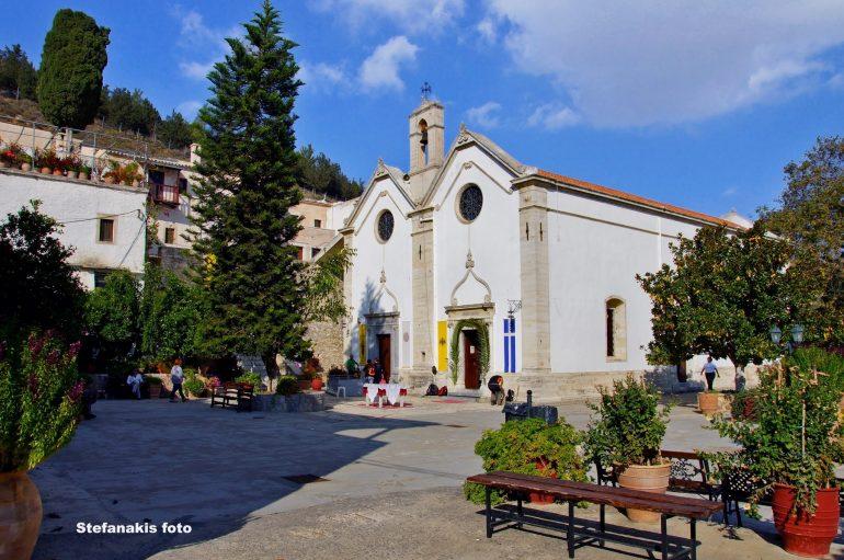 Η Ιερά Μονή Αγίου Γεωργίου Επανωσήφη (ΒΙΝΤΕΟ)