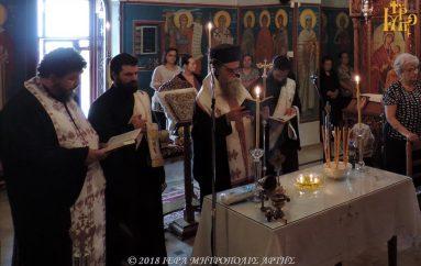 Ιερό Ευχέλαιο στην Ενορία Αγίων Αποστόλων Άρτης (ΦΩΤΟ)
