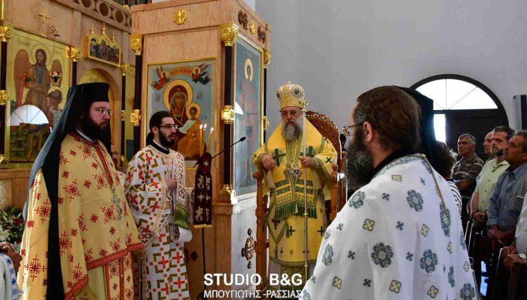 Λαμπρός ο εορτασμός του Αγ. Λουκά του Ιατρού στα Λευκάκια Ναυπλίου (ΦΩΤΟ)
