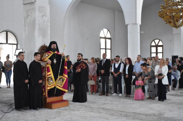 Εσπερινός του Αγίου Ευγενίου Τραπεζουντίου στην Ι. Μ. Μαρωνείας (ΦΩΤΟ)