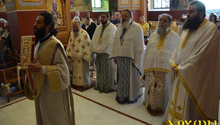 Η εορτή του Αγίου Λουκά του Ιατρού στην Τρίπολη (ΦΩΤΟ)