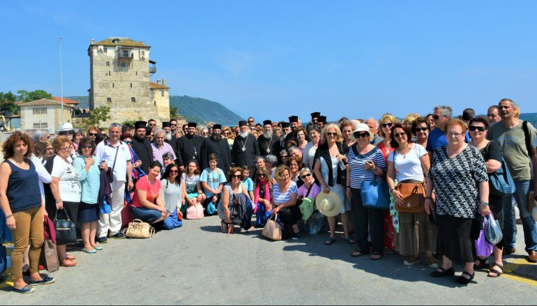 Προσκύνημα της Ι. Μητροπόλεως Μαντινείας στο Άγιον Όρος (ΦΩΤΟ)