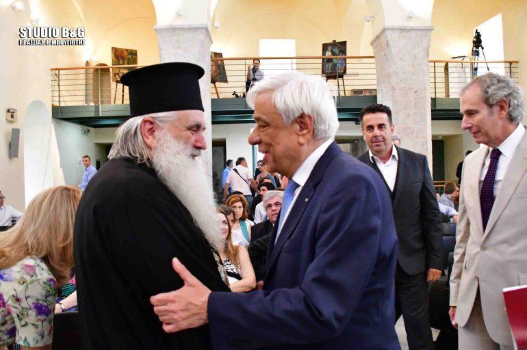 Ο Πρόεδρος της Δημοκρατίας στο Ναύπλιο (ΦΩΤΟ)