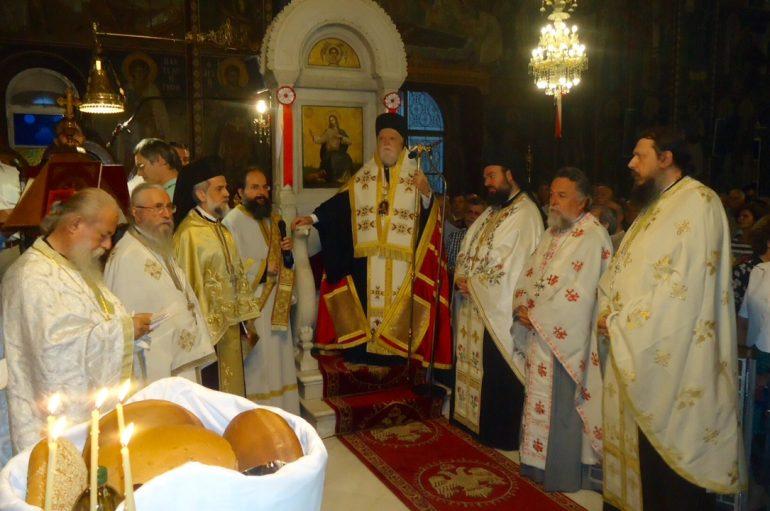 Πανηγυρικός Εσπερινός στους Αγίους Πάντες Καλλιθέας (ΦΩΤΟ)