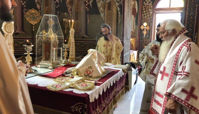 Αρχιερατική Θεία Λειτουργία στην Πύλη Δερβενοχωρίων (ΦΩΤΟ)