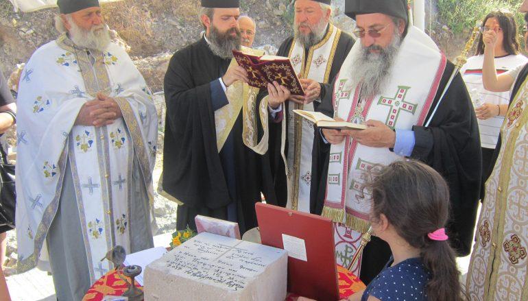 Ανέγερση Ναού των Αγίων Πορφυρίου και Παϊσίου στην Ι. Μ. Ρεθύμνης (ΦΩΤΟ)