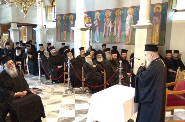 Ιερατική Σύναξη στην Ιερά Μητρόπολη Αιτωλίας (ΦΩΤΟ)