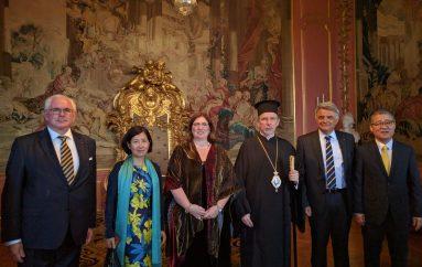 O Μητροπολίτης Σουηδίας στο Παλάτι για την Εθνική Εορτή της Σουηδίας