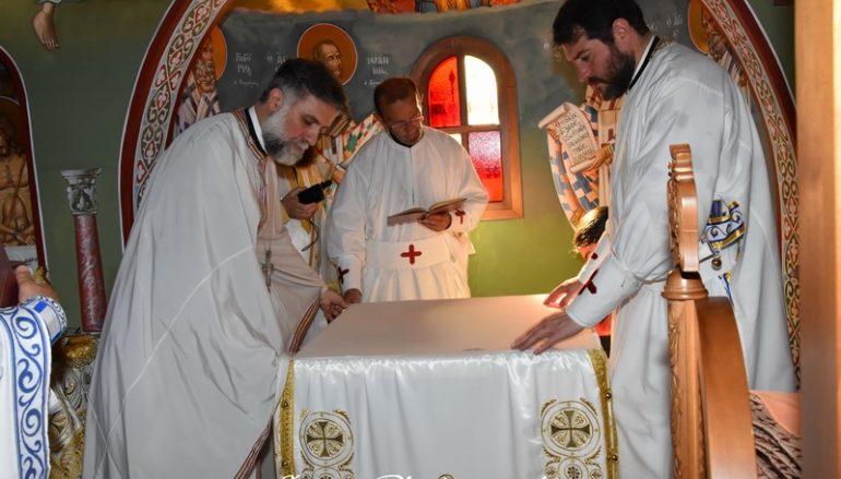 Εγκαίνια Ναού από τον Μητροπολίτη Αγ. Φραγκίσκου στις Ροβιές Ευβοίας (ΦΩΤΟ)