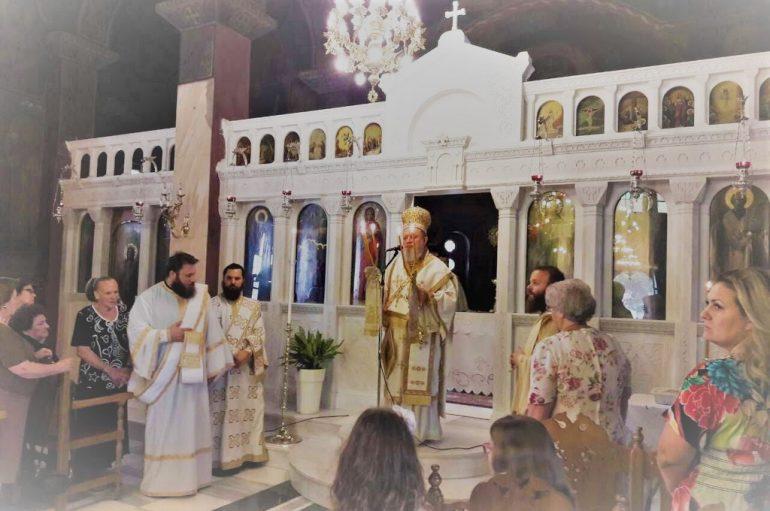 Η εορτή του Αγίου Μεθοδίου στην Ι. Μ. Χαλκίδος (ΦΩΤΟ)