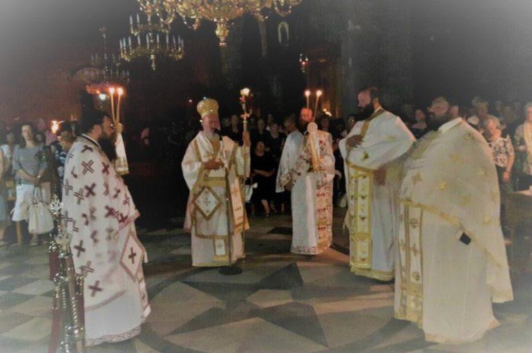 Ιερά Αγρυπνία για τον Αγ. Λουκά τον Ιατρό στην Ι. Μ. Χαλκίδος (ΦΩΤΟ)