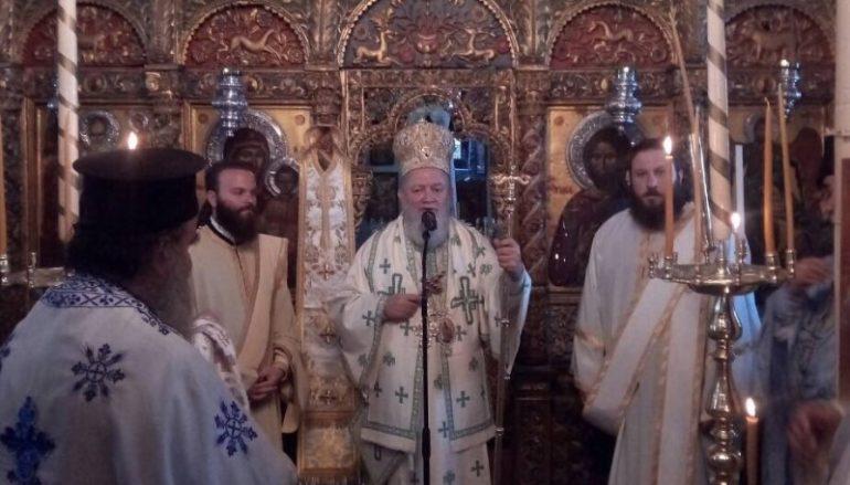 Ποιμαντική επίσκεψη του Μητροπολίτη Χαλκίδος στη Σκόπελο (ΦΩΤΟ)