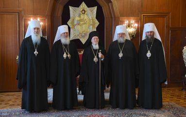 Αντιπροσωπεία της Ουκρανικής Ορθόδοξης Εκκλησίας στο Οικ. Πατριαρχείο