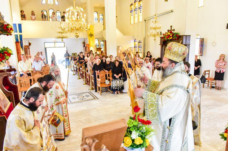 Η εορτή των Οσίων Αγιορειτών Πατέρων στην Ι. Μ. Λαγκαδά (ΦΩΤΟ)