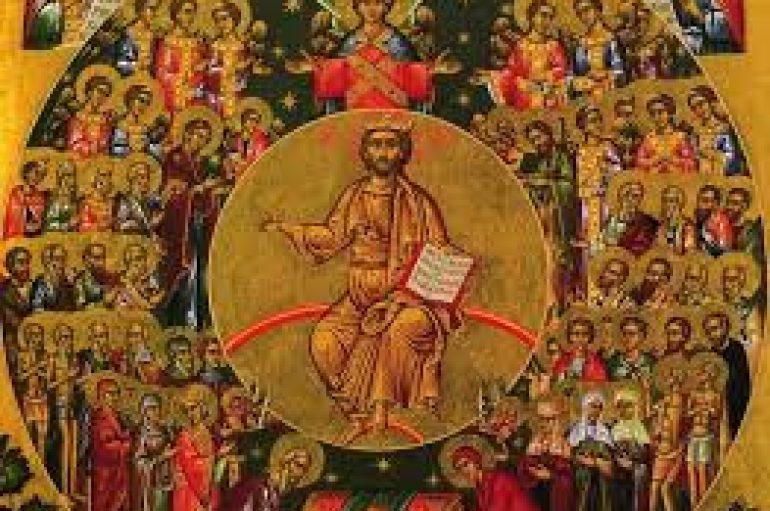 Οι Άγιοι της Εκκλησίας μας, πρεσβευτές των ανθρώπων προς τον Ιησού Χριστό