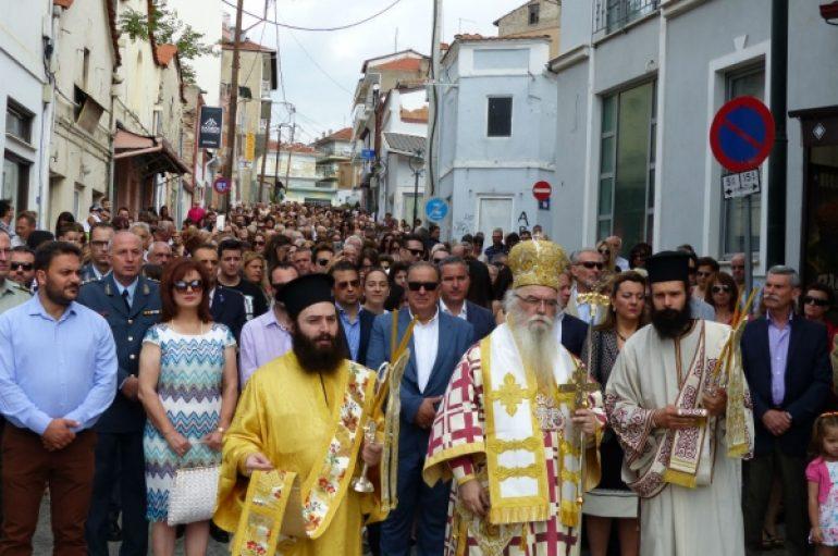 Την Αγία Παρασκευή τίμησε το Άργος Ορεστικό (ΦΩΤΟ)