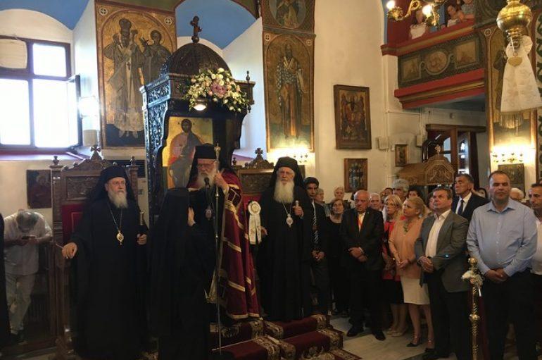 Ο Αρχιεπίσκοπος Ιερώνυμος στη Δημητσάνα για την Πολιούχο Αγ. Κυριακή (ΦΩΤΟ)