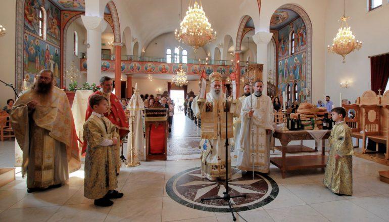 Η εορτή του Αγίου Παντελεήμονος στο Harrow του Λονδίνου (ΦΩΤΟ)