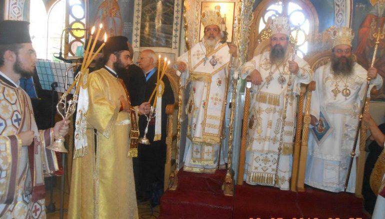 Με λαμπρότητα η Χίος τίμησε την Αγία Μαρκέλλα (ΦΩΤΟ)