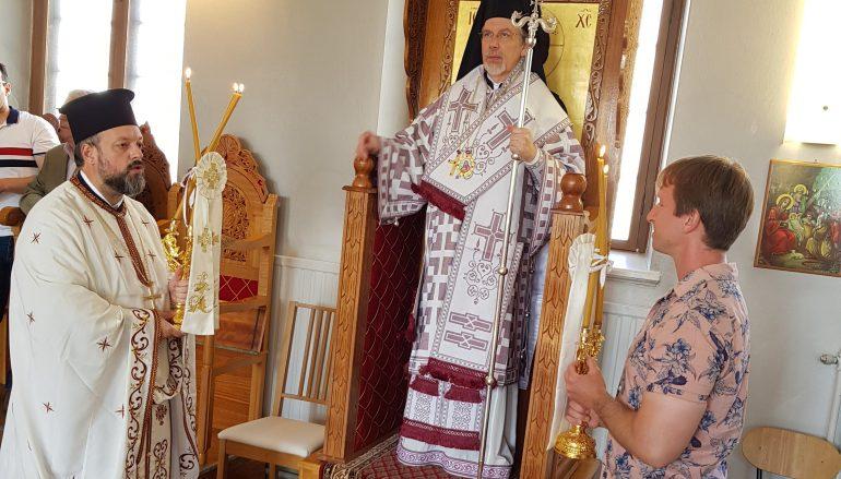 Ποιμαντική επίσκεψη Μητροπολίτη Σουηδίας στην Ουψάλα (ΦΩΤΟ)