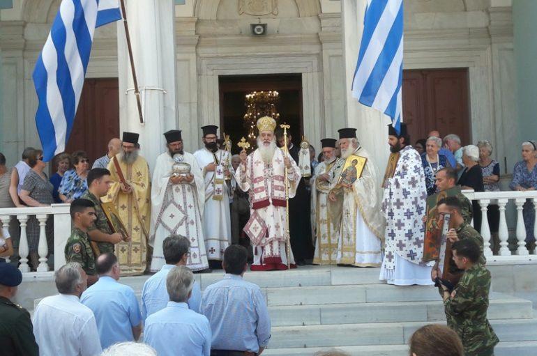 Τους Αγίους του εόρτασε το νησί της Σάμου (ΦΩΤΟ)