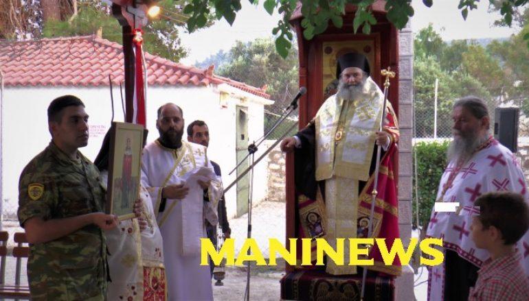 Αρχιερατικός Εσπερινός της Αγίας Μαρίνας στο ΚΕΕΜ Γυθείου (ΦΩΤΟ)