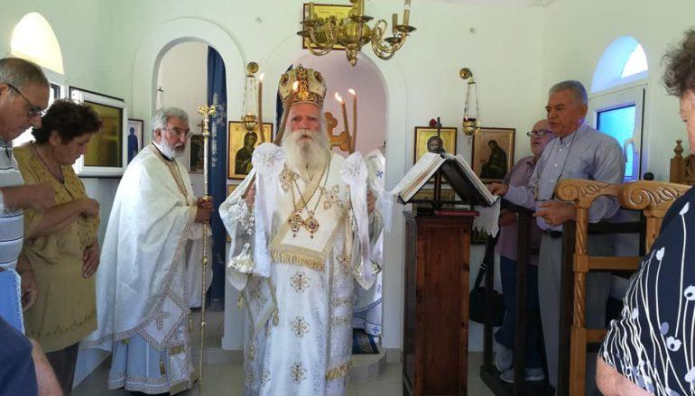 Η εορτή του Οσίου Αθανασίου του Αθωνίτου στα Αντικύθηρα (ΦΩΤΟ)
