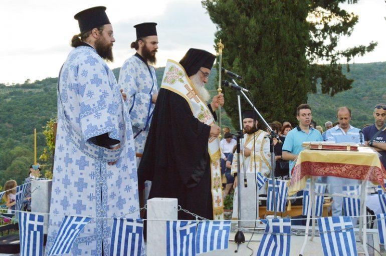 Αρχιερατικός Εσπερινός στην Ιερά Μονή Προφήτου Ηλιού Εδέσσης (ΦΩΤΟ)