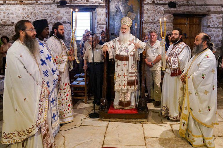 Η εορτή του Αγίου Προκοπίου στην Ι. Μητρόπολη Βεροίας (ΦΩΤΟ)
