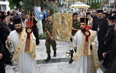 Η Κομοτηνή υποδέχθηκε την Παναγία Σηλυβριανή (ΦΩΤΟ)