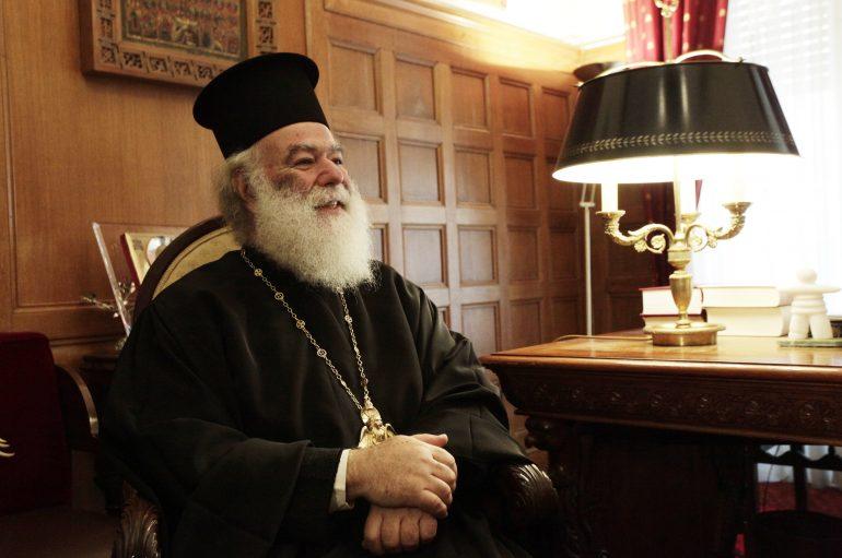 """Πατριάρχης Αλεξανδρείας: """"Ο Ελληνισμός σήμερα πενθεί!"""""""