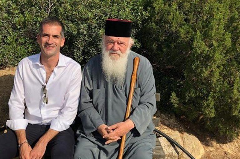 Συνάντηση Αρχιεπισκόπου Ιερωνύμου και Κώστα Μπακογιάννη