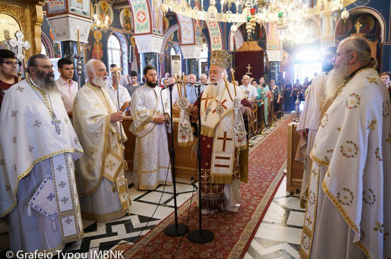 Η Εορτή της Αγίας Παρασκευής στην Ι. Μητρόπολη Βεροίας (ΦΩΤΟ)