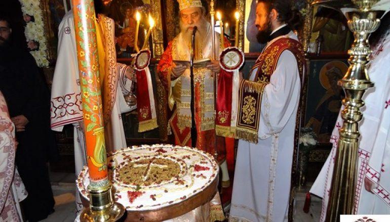 Πανηγύρισε η Ιερά Μονή Αγίων Αναργύρων στον Πάρνωνα (ΦΩΤΟ)