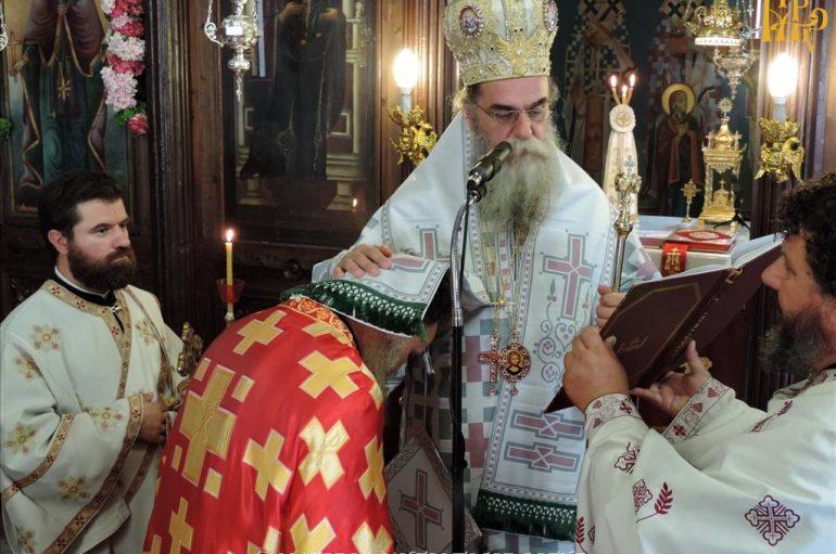 Χειροθεσία Πνευματικού από τον Μητροπολίτη Άρτης Καλλίνικο (ΦΩΤΟ)