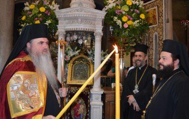 Λαοθάλασσα στην Τήνο για την εορτή του οράματος της Οσίας Πελαγίας (ΦΩΤΟ)