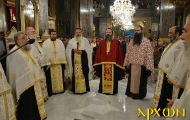 Πανηγυρικός Εσπερινός στον Ι. Ναό Προφήτου Ηλιού Τρίπολης (ΦΩΤΟ)