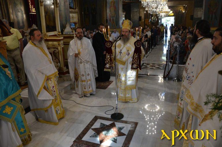 Λαμπρός ο εορτασμός του Προφήτη Ηλία στην Τρίπολη (ΦΩΤΟ)