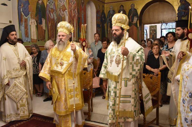 Η Κομοτηνή εόρτασε την Πολιούχο της Αγία Παρασκευή (ΦΩΤΟ)